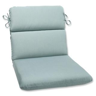 Kate Aqua Blue Outdoor Cushion With P Kaufmann Fabric