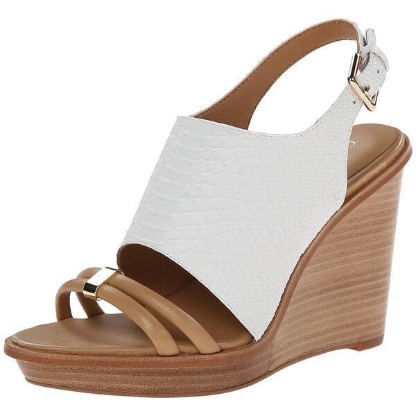 Calvin Klein Women's Prina Wedge Sandal