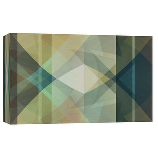 """PTM Images 9-102280  PTM Canvas Collection 8"""" x 10"""" - """"Geary V2G"""" Giclee Abstract Art Print on Canvas"""