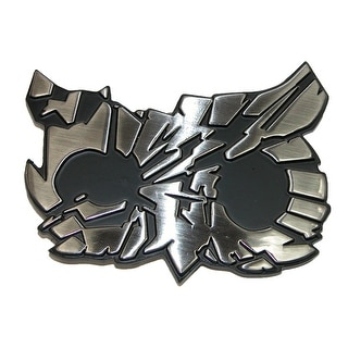 Focus Shattered Owl Buckle - Silver - One Size