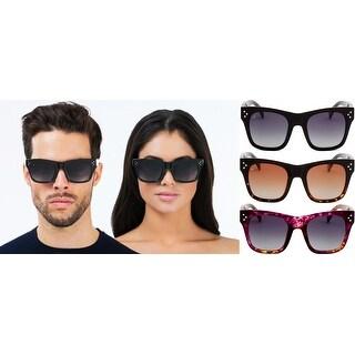 "PRIVÉ REVAUX ICON Collection ""The Classic"" Designer Polarized Geometric Sunglasses"
