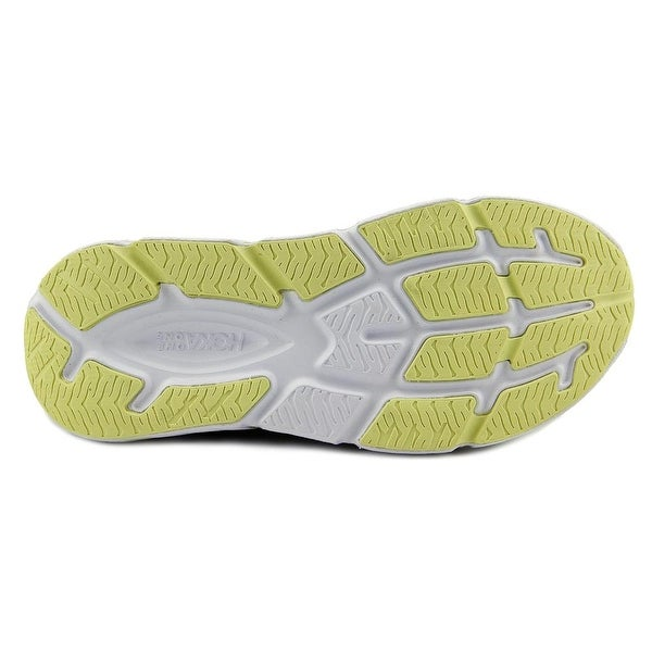 Hoka One One Infinite Women Round Toe Synthetic Yellow Running Shoe