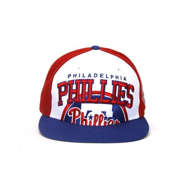 hot sale online 4af28 9aca6 Philadelphia Phillies MLB 47 Brand Vintage Red Triple Block MVP Snap Back  Hat.  47 Brand Tampa Bay Rays Cooperstown Collection Basic Logo Cleanup ...
