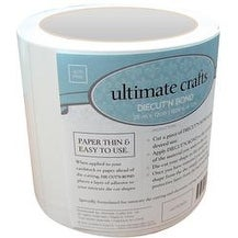 "Clear - Ultimate Crafts Diecut'n Bond Double-Sided Tape 4.72""X82'"