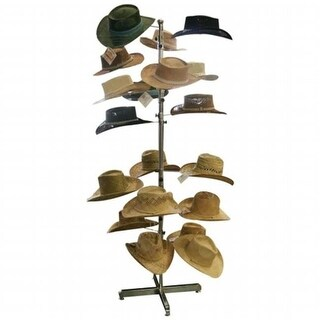 Casual Outfitters GFHATDSP Casual Outfitters Floor Hat Display Rack