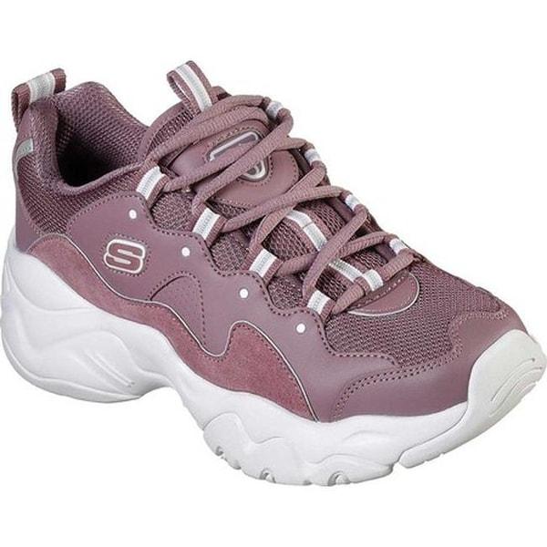 d65e51bfc9d2 Shop Skechers Women s D Lites 3 Zenway Sneaker Purple - On Sale ...