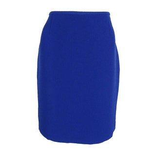 Tahari Women's Petite Textured Crepe Pencil Skirt