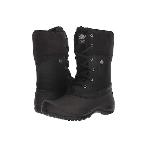 The North Face Womens Shellista Fabric Open Toe Ankle Cold Weather Boots