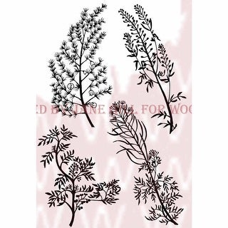 """Woodware Clear Stamps 3.5""""X5.5""""-Herbs"""