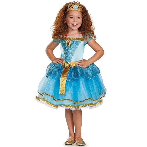Disguise Merida Tutu Prestige Child Costume - Blue