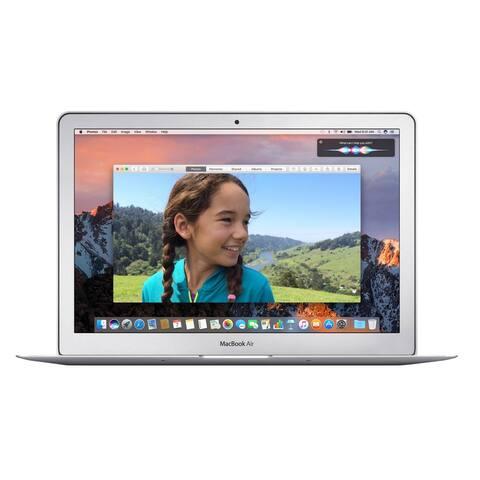 Macbook Air 13.3-inch (Glossy) 1.8GHZ Dual Core i5 (Late 2017) 750 GB Hard Drive 8 GB Memory - Silver