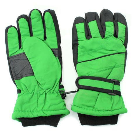 Children Ski Gloves Fits most(3-6 Yrs Old) Snow Winter Cold Weather Windproof - One Size ((Kids 3-6 Yrs Old)