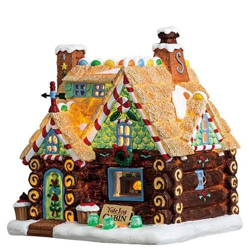 Yule Log Cabin