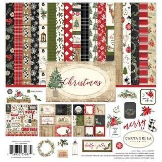 "Carta Bella Collection Kit 12""X12""-Christmas"
