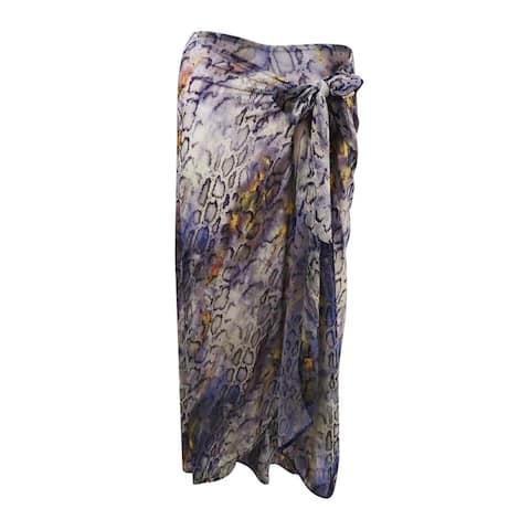 RACHEL Rachel Roy Women's Printed Pareo Wrap - OS