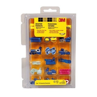 3M 3734 Assorted Electrical Connector Kit, 79 Piece
