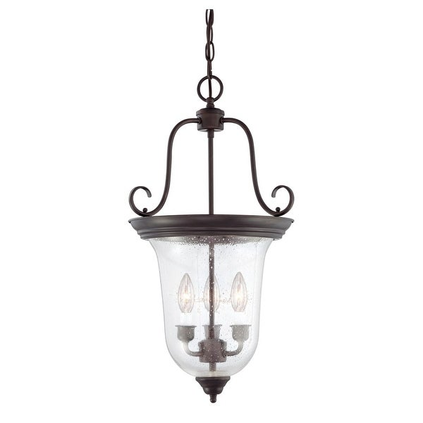 "Savoy House 3-8521-3 Foyer 3 Light 13"" Wide Pendant"