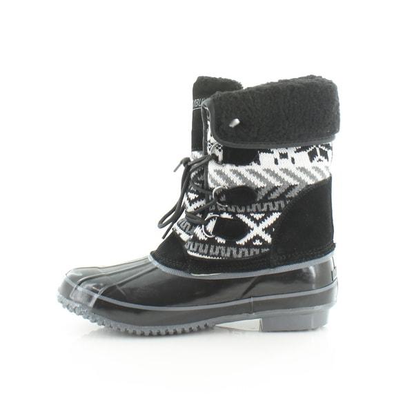 Khombu Mayana Women/'s Boots Black