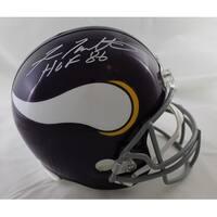Fran Tarkenton Autographed Minnesota Vikings Replica Helmet HOF JSA