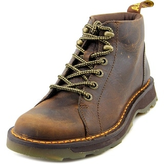 Dr. Martens Bodie Men Round Toe Leather Brown Work Boot