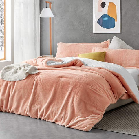 Fuzzy Peach - Coma Inducer® Comforter - Peachy Pink