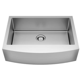 "American Standard 18SB.9302200A Pekoe 30"" Farmhouse Single Basin Stainless Steel"