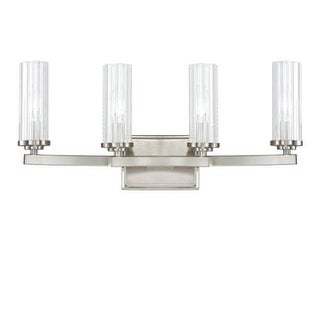 """Donny Osmond Home 8044-150 4 Light 21.75"""" Wide Bathroom Fixture from the Emery Collection"""