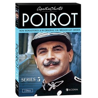Agatha Christie's Poirot: Series: 5 - Dvd