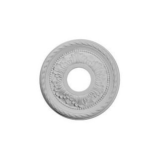 "Ekena Millwork CM11PM 11.375"" Wide Palmetto Ceiling Medallion"