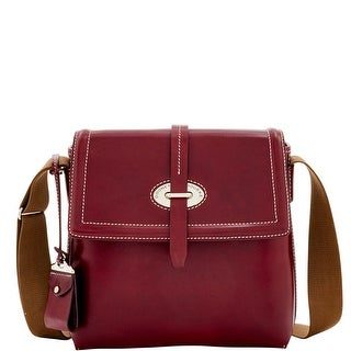 Dooney & Bourke Florentine Toscana Small Messenger Bag (Introduced by Dooney & Bourke at $398 in Sep 2016) - Bordeaux
