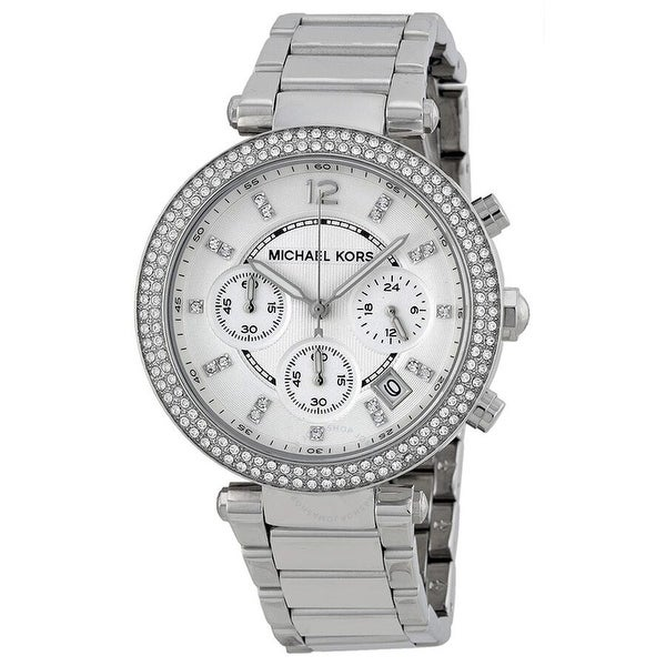 Parker Chronograph Silver Dial Ladies MK5353 Watch - One Size. Opens flyout.