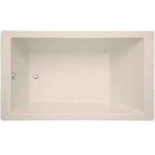"Mirabelle MIRSKS6036 Sitka 60"" X 36"" Acrylic Soaking Bathtub for Drop In or Unde"