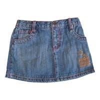Disney Little Girls Blue High School Musical Star Embroidery Denim Skirt 4-6X