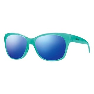 Smith Optics Sunglasses Womens Feature Carbonic TLT Lifestyle - opal blue - One size