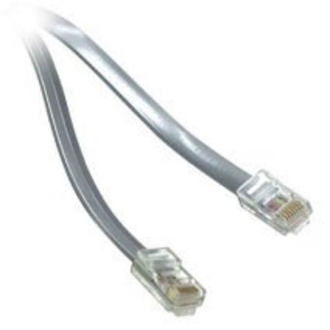 14' 4.3 Meters Line Cord Silver
