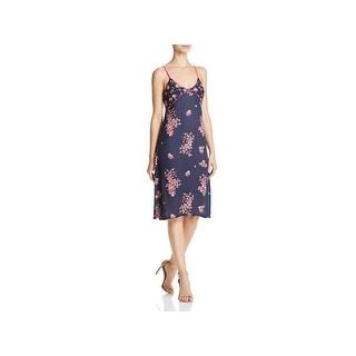 Banjara Womens Casual Dress Knee Length Floral Print