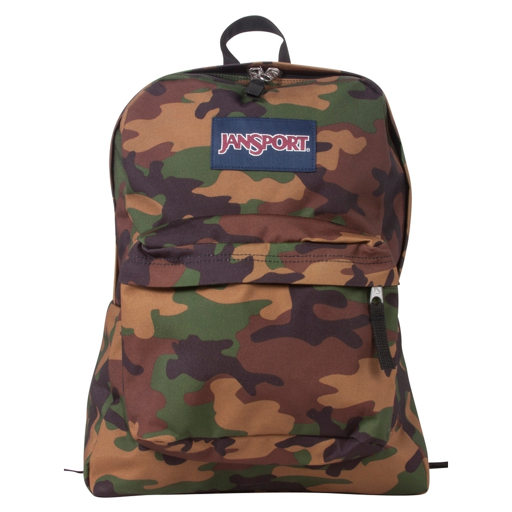 Jansport Superbreak Backpack - Surplus Camo - Surplus Camo - One Size (Surplus Camo)
