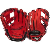 "Mizuno Franchise Series Red 11.5"" Baseball Glove"