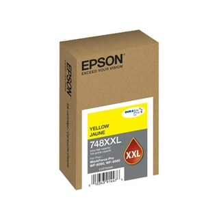 Epson 748 Yellow Ink Cartridge w/ Extra Large Capacity for WorkForce Pro Printer