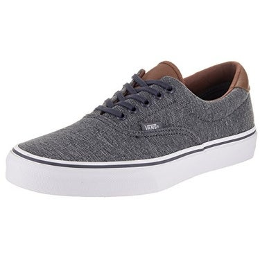 0c8718ef06 Shop Vans Era 59 Mens Gray Textile Lace Up Sneakers Shoes - Free Shipping  Today - Overstock - 19563641