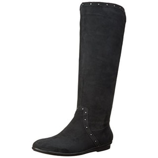 Easy Spirit Womens Kandis Knee-High Boots Suede Studded - 8.5 medium (b,m)