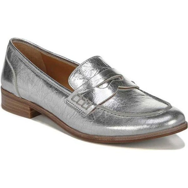e98cc4e1e6c Sarto by Franco Sarto Women  x27 s Jolette Penny Loafer Argento Phantom  Leather