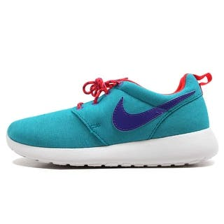 14cccc2297ce Nike Grade-School Rosherun Turbo Green Purple Venom-Laser Crimson-White  599729
