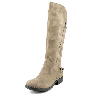 American Rag Asher Round Toe Synthetic Knee High Boot