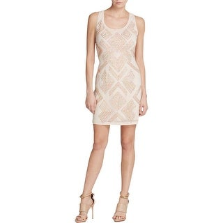 French Connection Womens Cocktail Dress Chiffon Sequined - 0