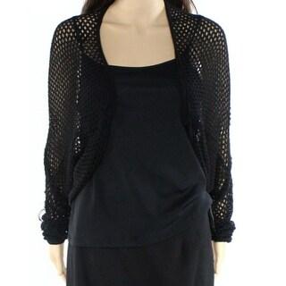 Catherine Malandrino NEW Black Womens Size Medium M Cardigan Sweater