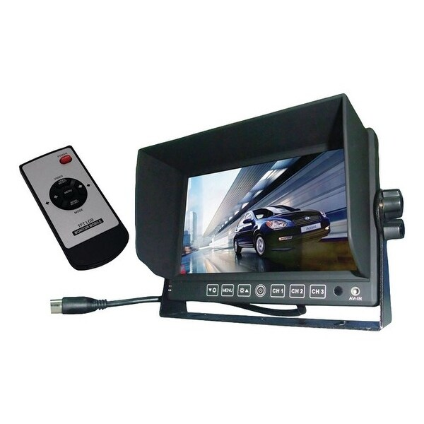 Boyo vision vtm7012 7 rearview color monitor