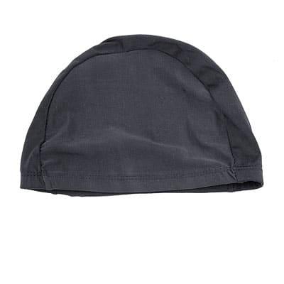 Unique Bargains Stretchable Swimming Cap Unisex Sports Swim Hat Black