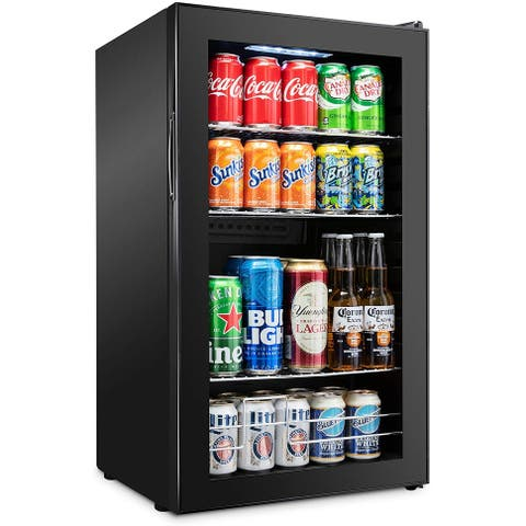 Ivation 126 Can Beverage Refrigerator