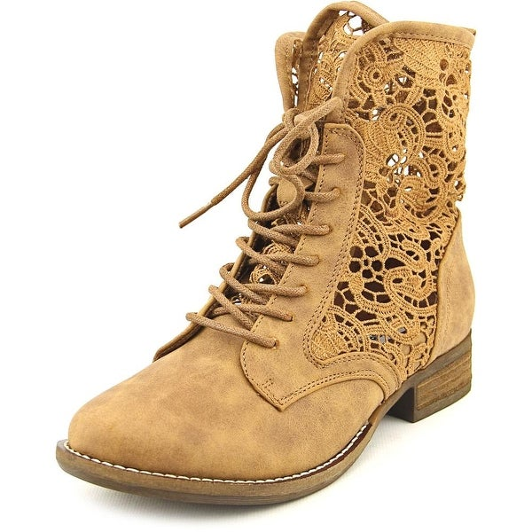 Not Rated Jakobe Women Round Toe Synthetic Ankle Boot
